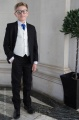 Boys Black & Ivory Suit with Royal Blue Tie - Roland