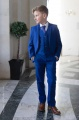 Boys Electric Blue Jacket Suit - Barclay