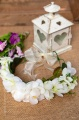 Peridot Ivory Flower Girl Hair Wreath - Style May