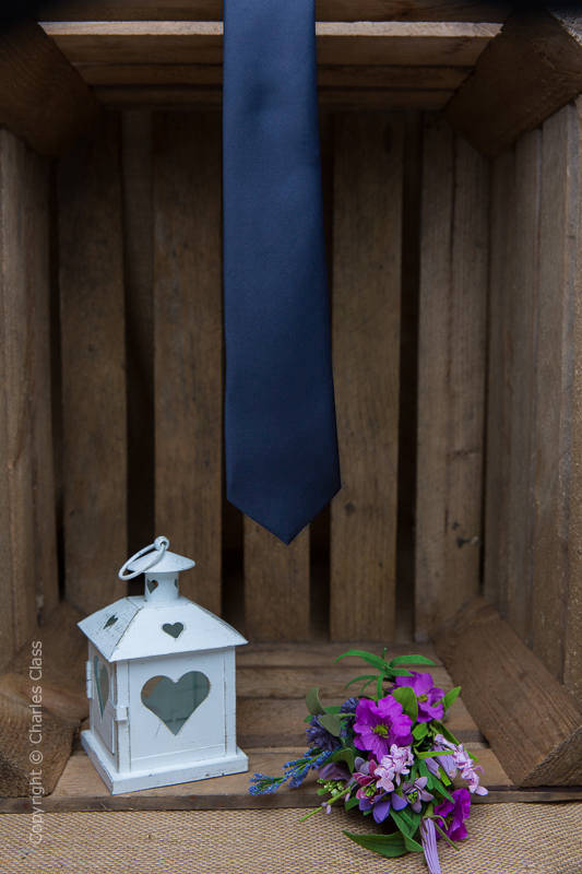Boys Navy Full Length Satin Tie