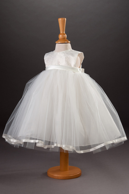 Millie Grace Brocade Tulle Flower Girl Dress - Tilly