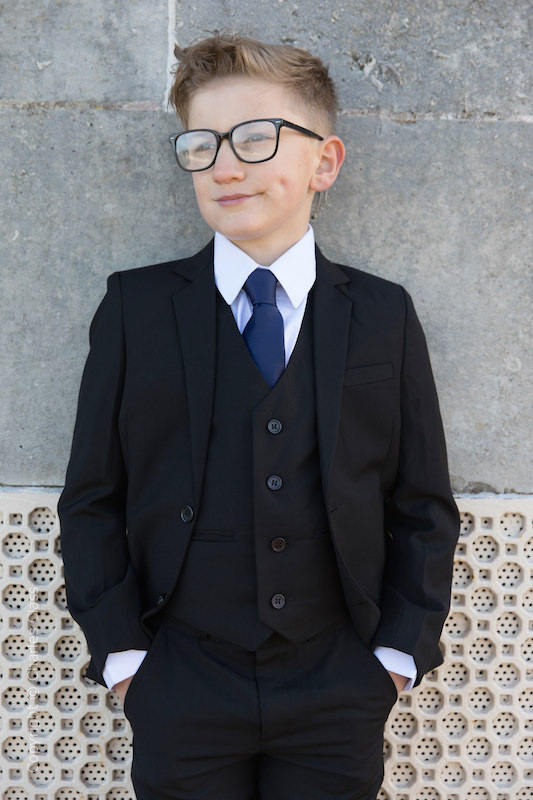 88918c114539 Boys 5 Piece Suits | Boys Full Wedding Suits | Charles Class