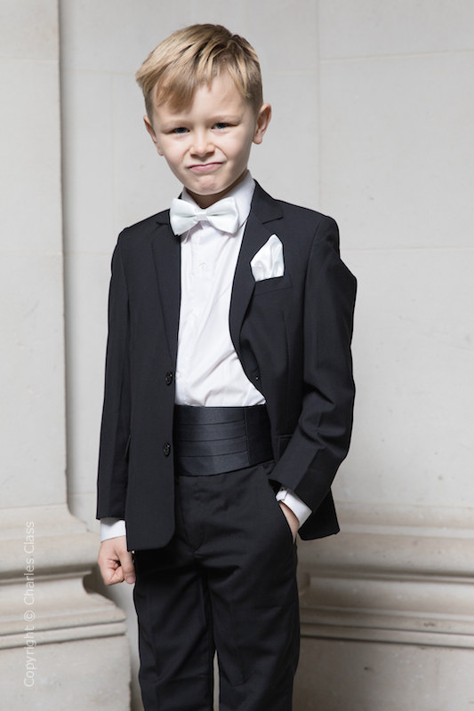 fe29409383c1 Boys Bow Tie Suits | Boys Dickie Bow Wedding Suits | Charles Class