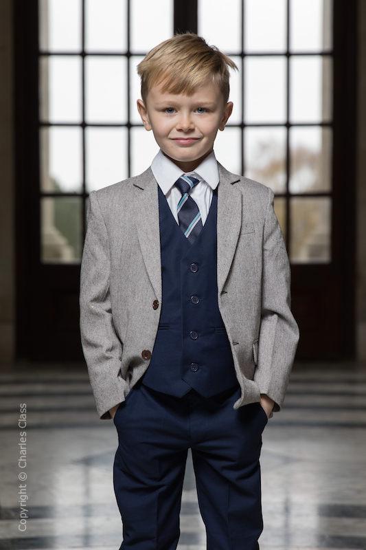 ffb1240f6169eb Boys Tweed Suits | Tweed Wedding Suits | Charles Class