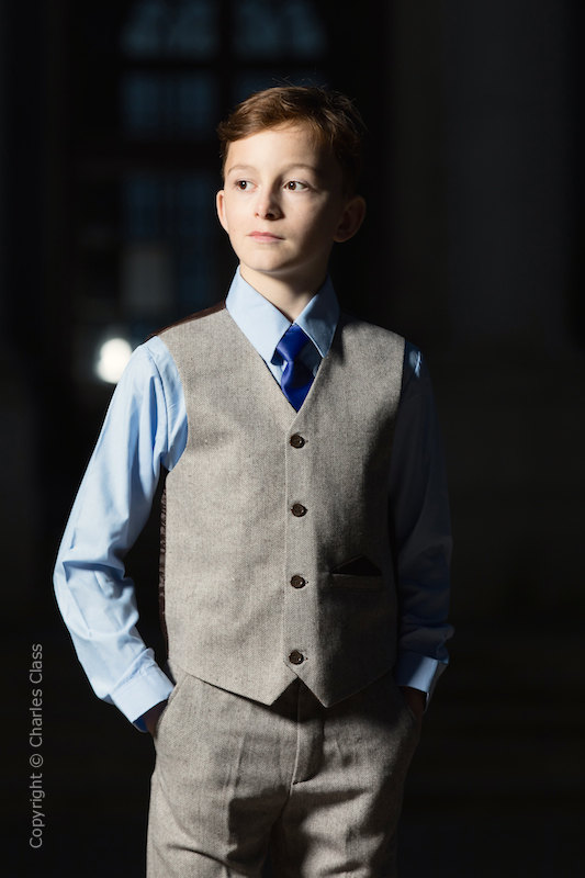 superior quality special discount new selection Boys Tweed Suits | Tweed Wedding Suits | Charles Class